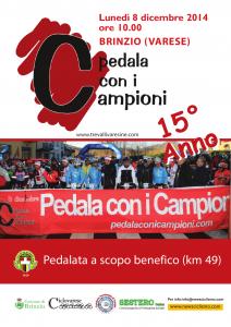 LOCANDINA Pedala con i Campioni 2014